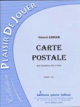 Gérard Lenoir - Carte Postale - Partition - di-arezzo.fr