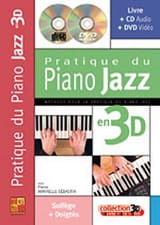Pierre Minvielle-Sebastia - Pratique du piano jazz en 3D - Partition - di-arezzo.fr