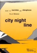 City Night Line Ruud Wiener Partition laflutedepan.com