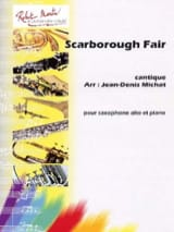 Traditionnel - Scarborough Fair, Cantique - Partition - di-arezzo.fr