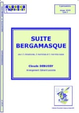 Suite Bergamasque - Claude Debussy - Partition - laflutedepan.com