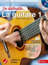 Je débute la Guitare Partition Guitare - laflutedepan.com