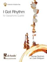 I Got Rhythm George Gershwin Partition Saxophone - laflutedepan.com