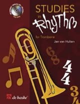 Studies In Rhythm Jan Van Hulten Partition Trombone - laflutedepan.com