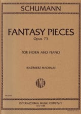 Fantasy Pieces Opus 73 SCHUMANN Partition Cor - laflutedepan.com