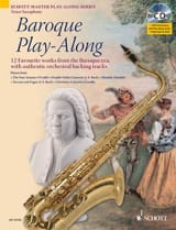 Baroque Play-Along Partition Saxophone - laflutedepan.com