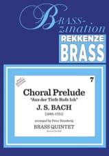 Johann Sebastian Bach - Chorale Prelude - Partition - di-arezzo.fr