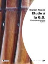 Etude A la G.G. Marcel Jorand Partition Xylophone - laflutedepan.com