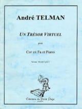 André Telman - Un Trésor Virtuel - Partition - di-arezzo.fr