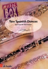 Enrique Granados - Two spanish dances - music box - Partition - di-arezzo.fr