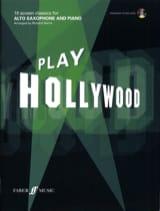 Play Hollywood - Partition - Saxophone - laflutedepan.com