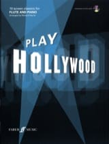 Play Hollywood Partition Flûte traversière - laflutedepan.com