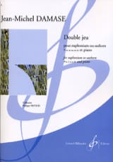 Double Jeu Jean-Michel Damase Partition Tuba - laflutedepan.com