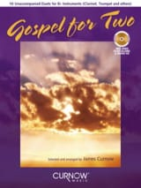 Gospel For Two Partition Clarinette - laflutedepan.com