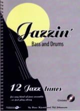Jazzin' - Bass & Drums Hjortek Hans / Johansson Kly laflutedepan.com