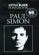 Paul Simon - The Little Black Songbook - Partition - di-arezzo.fr