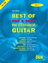 Best of pop & rock for classical guitar volume 8 laflutedepan.com