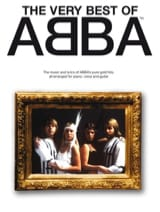 The Very Best Of Abba Grand Format ABBA Partition laflutedepan