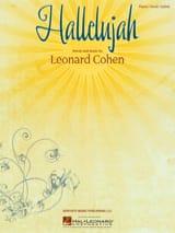 Leonard Cohen - Hallelujah - Partition - di-arezzo.fr