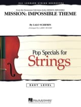 Mission: Impossible Theme - Easy Pop Specials For Strings - laflutedepan.com