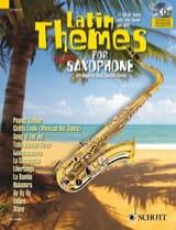 Latin themes - Partition - Saxophone - laflutedepan.com