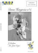 Danse Hongroise N° 5 - Johannes Brahms - Partition - laflutedepan.com