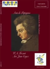Wolfgang Amadeus Mozart - Aria de Papageno - Partition - di-arezzo.fr