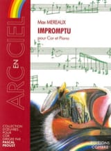Max Mereaux - Impromptu - Partition - di-arezzo.fr