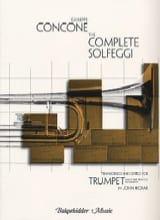 The Complet Solfeggi Giuseppe Concone Partition laflutedepan