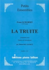 SCHUBERT - Trout - Sheet Music - di-arezzo.co.uk