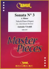 Antonio Vivaldi - Sonata N° 3 A Minor - Partition - di-arezzo.fr