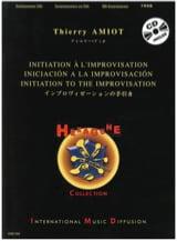 Initiation A L' Improvisation Thierry Amiot Partition laflutedepan.com