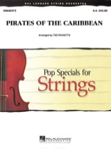 klaus Badelt - Pirates of the Caribbean 1 - The Curse of Black Pearl - Pop Specials For String - Sheet Music - di-arezzo.co.uk