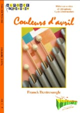 Franck Dentresangle - Colors of April - Sheet Music - di-arezzo.com