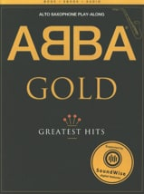 Abba Gold Greatest Hits - Play-Along ABBA Partition laflutedepan