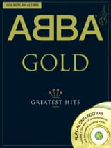 ABBA - Violin play-along - Abba Gold greatest hits - Partition - di-arezzo.fr