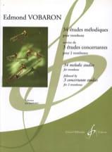 34 Etudes Mélodiques Trb / 3 Etudes Concertantes 2 Trbs laflutedepan