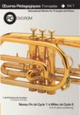 Saunier Clément / Kingdom Jan - Pedagogical Works Trumpet And Piano Volume 1 / Rom - Sheet Music - di-arezzo.com