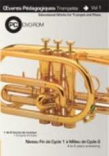 Saunier Clément / Kingdom Jan - Teaching Works Trumpet And Piano Volume 1 - Sheet Music - di-arezzo.co.uk
