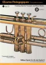 Saunier Clément / Kingdom Jan - Teaching Works Trumpet And Piano Volume 3 / Rom - Sheet Music - di-arezzo.com