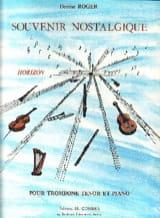 Souvenir Nostalgique Denise Roger Partition laflutedepan.com
