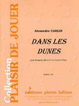 Dans les dunes - Alexandre Carlin - Partition - laflutedepan.com