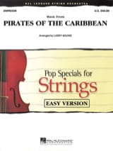 klaus Badelt - Pirates of the Caribbean 1 - Easy Pop Specials For Strings - Sheet Music - di-arezzo.co.uk