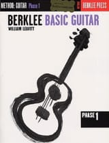William Leavitt G. - Basic Guitar - Phase 1 - Sheet Music - di-arezzo.com