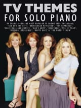 TV themes for solo piano Partition laflutedepan.com