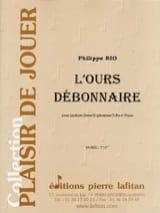 L' Ours Débonnaire Philippe Rio Partition Tuba - laflutedepan