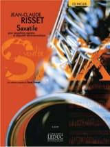 Saxatile Jean-Claude Risset Partition Saxophone - laflutedepan