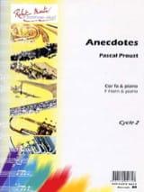 Anecdotes Pascal Proust Partition Cor - laflutedepan.com