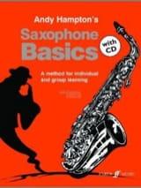 Andy Hampton - Saxophone Basics - Partition - di-arezzo.fr