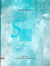 Berthold Hummel - Sonata Brevis Opus 92a - Partition - di-arezzo.fr